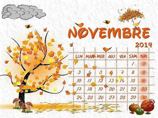 Le calendrier de Marilou